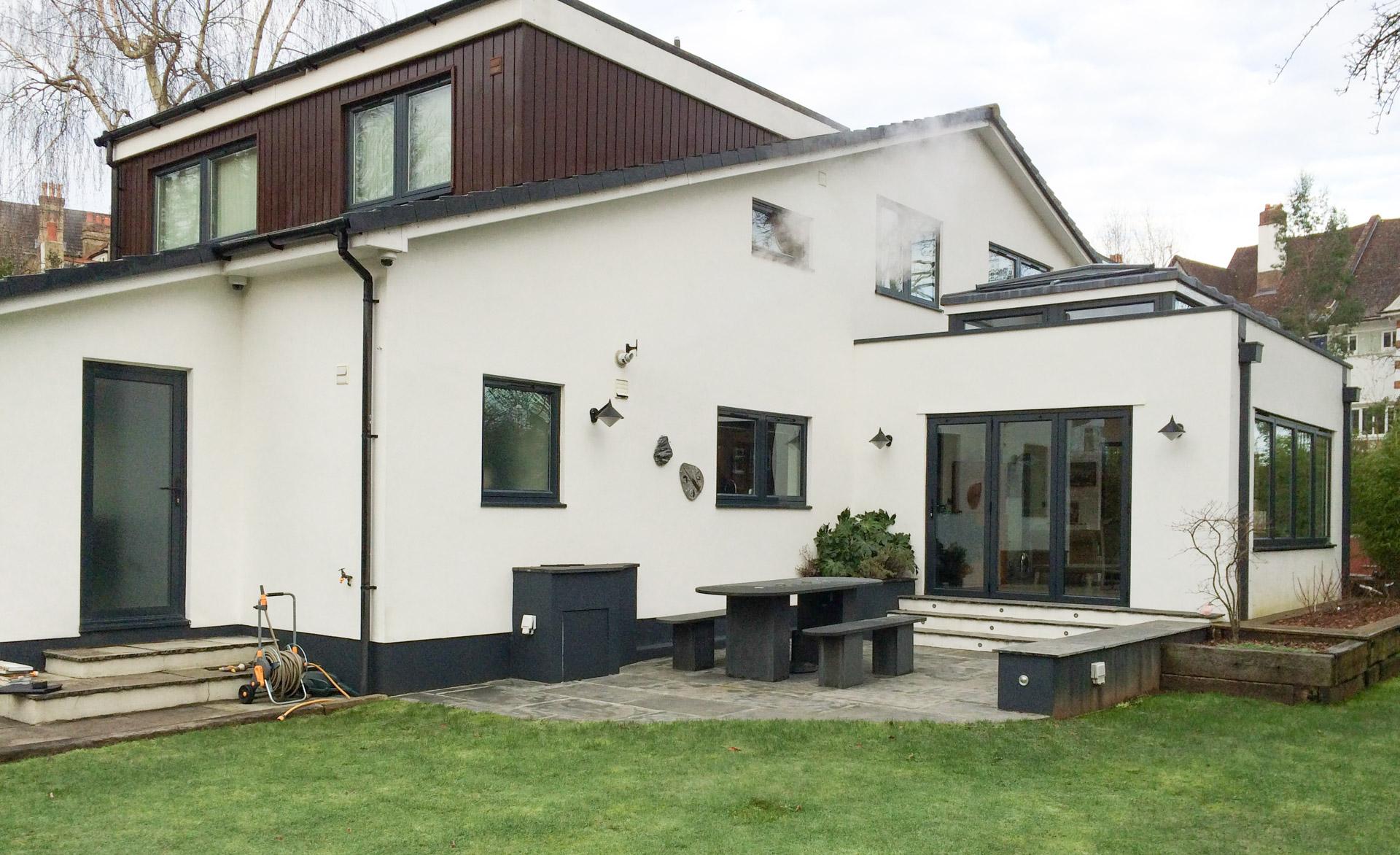 Home extension in Sevenoaks