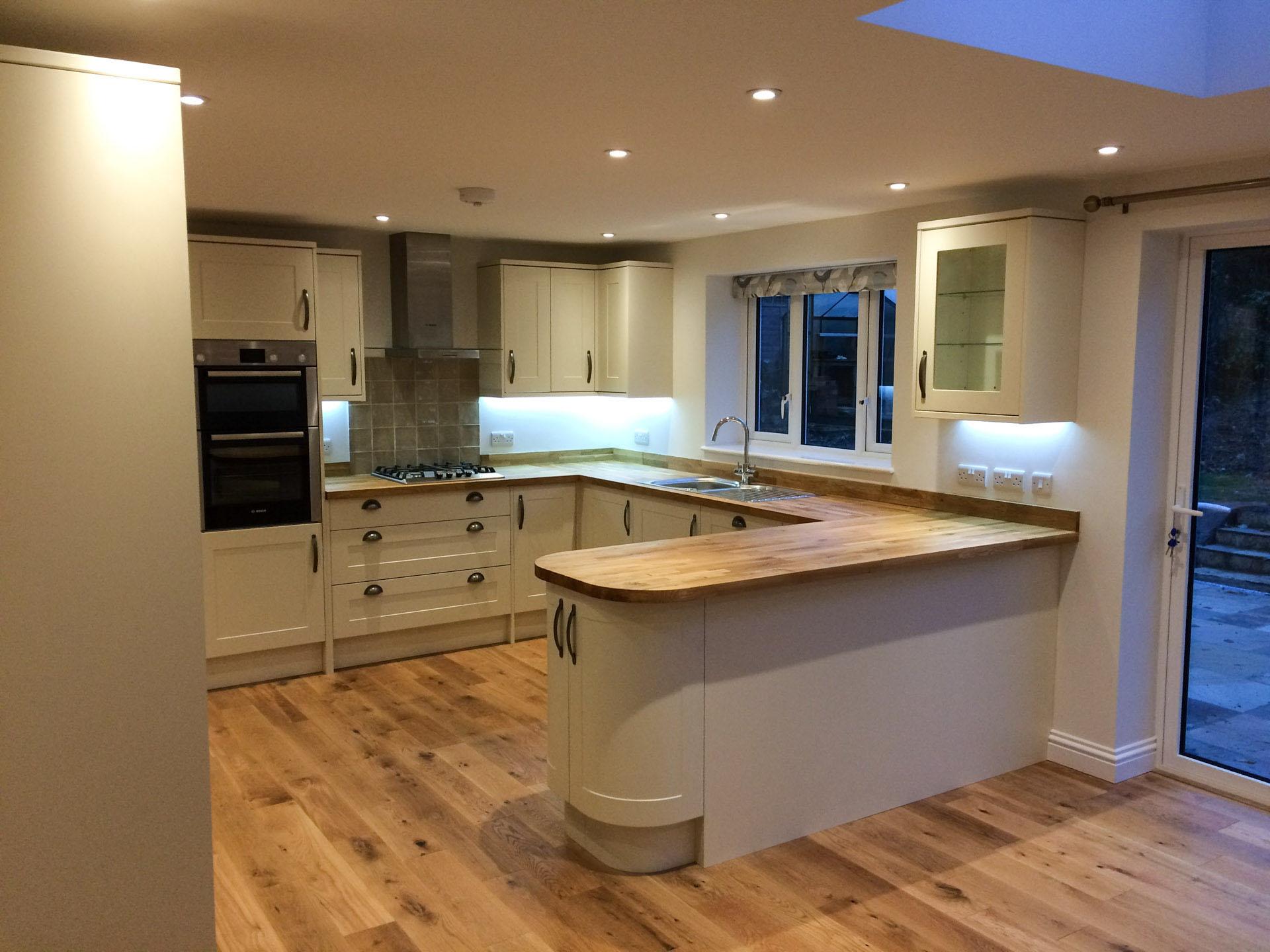 Kitchen refit in West Kent - Joseph PCL