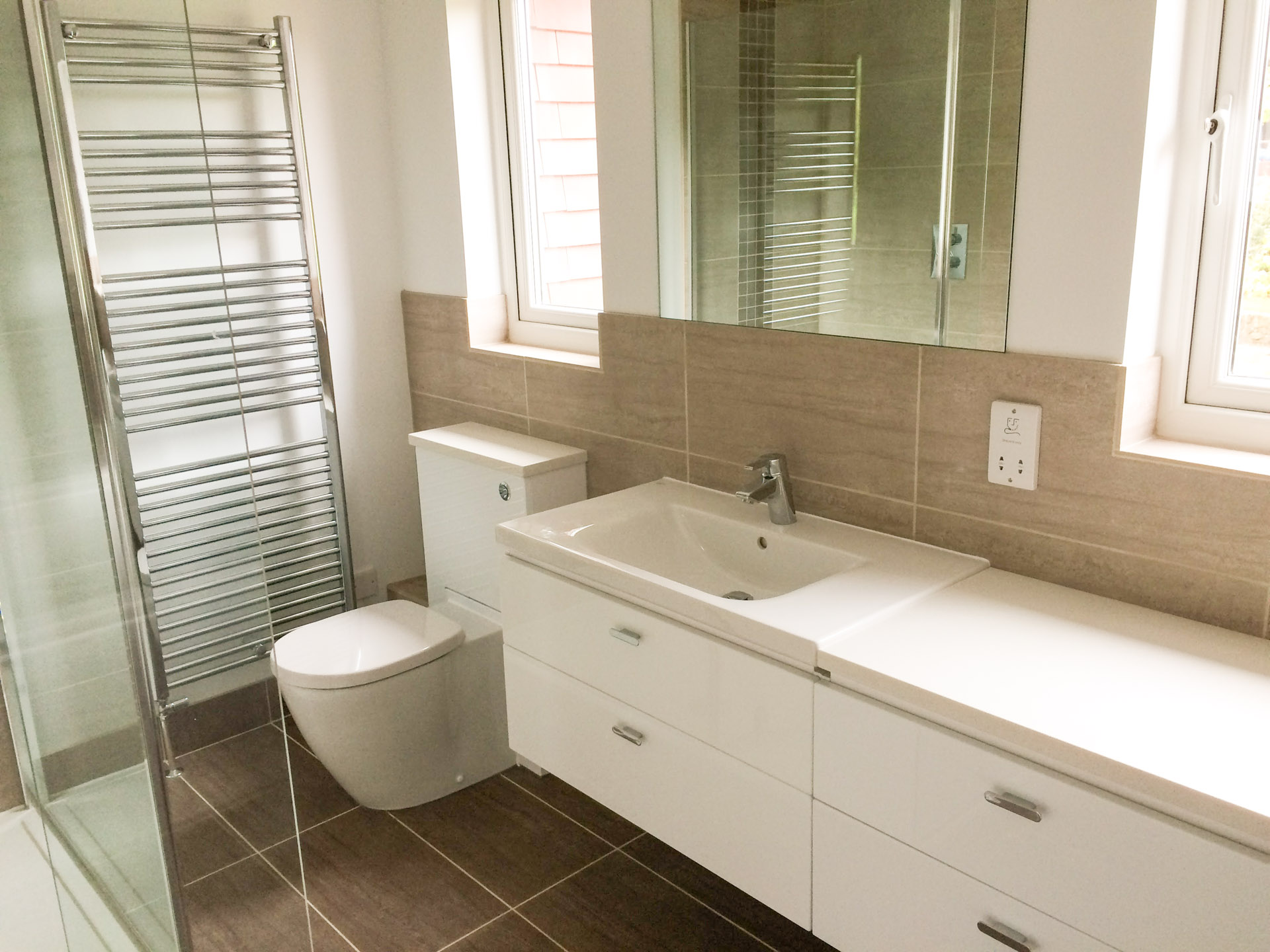 New bathroom in Sevenoaks - Joseph PCL